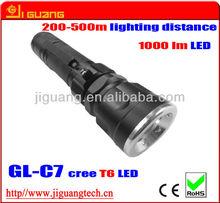 Cree XML T6 high power aluminum LED flashlight