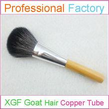 Natural face blush brush with goat makeup brushes