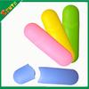 color plastic pencil box for school kids