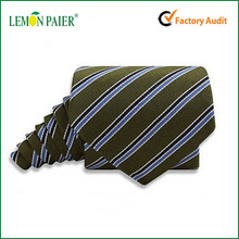 Classic Striped Polyester Men's Neck Wear