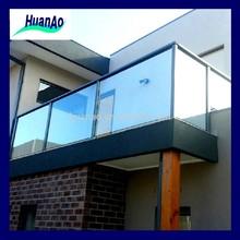 16 Safety aluminium iron balustrade pool balcony glass fencing