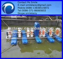 Pool aerator underwater using and no damage to fish