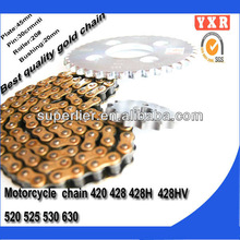 hot sale motorcycle cam chain,chain sprocket high quality motorcycle chain,transmission kit german roller chain