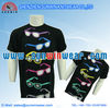customised 2013 100% cotton fashion round neck couple t-shirt