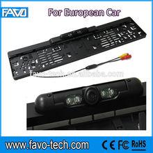 IR Night Vision EU license Car plate camera