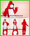 venda quente vermelho pássaro macacao adulto red bird onesie
