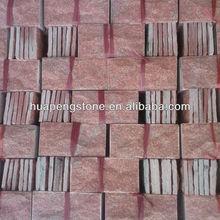 Types stone masonry kaoliang red sandstone mushroom stone