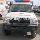 Toyota Landcruiser HZJ78 hard top Diesel Ambulance for Sale 2014 brand new