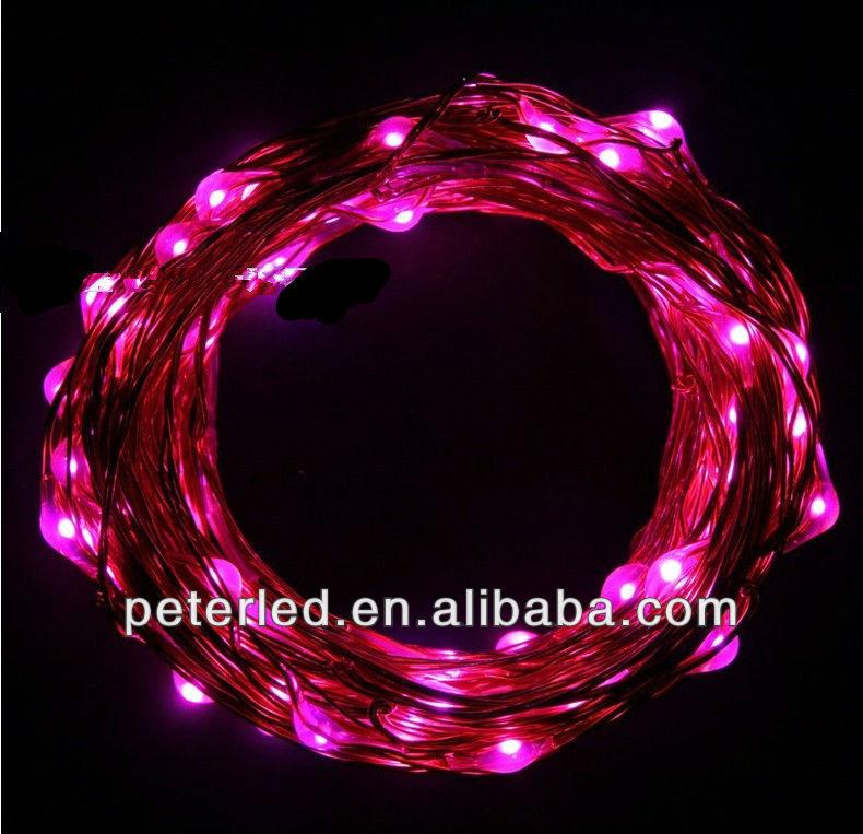 Ce&rohs Custom Length 1m-10m Twinkle Led Christmas Tree Ornament Light On Copper String Light ...