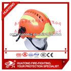 Reflective rescue helmet