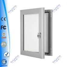 A2 right corner aluminum outdoor waterproof picture frame
