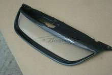 Tiguan front mesh grill carbon fiber grille for VW