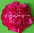 สีแดงชีฟอง2014/ซาติน/ผ้าไหมเทียมดอกไม้ขายส่ง