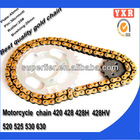 Motorcycle parts chain sprocket,China manufacturer color motorcycle chain 420,new product chain roller