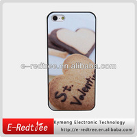 Romantic printing heart style cell phone hard mobile cases for iphone 5s