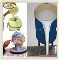 la materia prima líquido de silicona material de caucho crudo