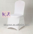 White Lycra Wedding Spandex Chair Cover
