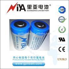 lithium thionyl chloride 3.6V 19ah battery ER34615