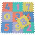 bambini ragazzi giocare schiuma puzzle tappetino con numero