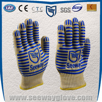 SEEWAY silicone OVE gloves/ heat resistant oven mitts