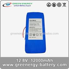 12v 12ah li-ion battery lifepo4 prismatic cell
