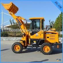 Mini loader 0.7 ton ,wheel loader price list with CE mark