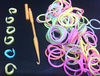hot selling new style Glow in the dark rubber loom bands