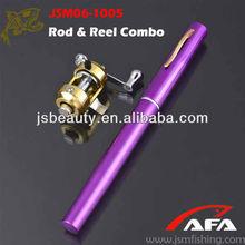 smart pen rod and reel combo. custom colors 97cm