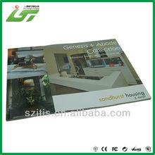 hight end digital signage magazin print service factory