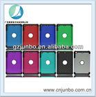 2014 fashion PC+silicon full stars mobile phone case for ipad 2/3/4
