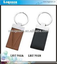 custom hot sale handmade braided leather keychain