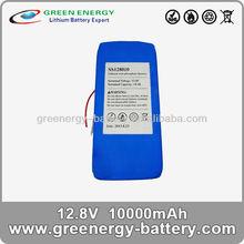12.8v battery li-ion battery lifepo4 10ah