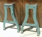 cast iron coffee table legs