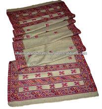 100% de lana hechos a mano kani chales de la india