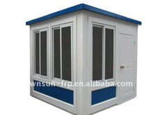 2014 China Supply Low Maintenance Small Fiberglass Kiosk For Mobile