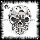 2014 stainless steel skull ring for men