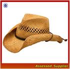Australia straw surf hat men/ mens cowboy straw hat promotional/cheap mens straw hats
