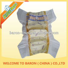China manufacturer of baby nappy