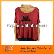 Custom Tshirt Fashion Red Plain 2014 Wholesale Tshirts