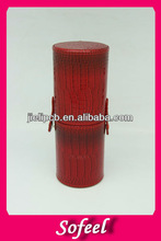 Sofeel hot selling red color high quaity wholesale makeup cases