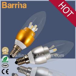 2014 zhongshan high quality candle LED light ztl