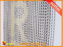 economical metal chain door curtain