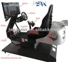 2014 4d racing car game machine