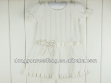 Baby 80% Cotton 20% Polyester Knitted Sweater Dress and Panty Set