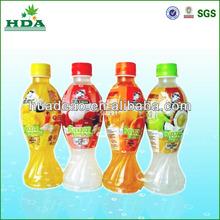 Caliente venta de contracción impresa etiquetas para el jugo de China produjo