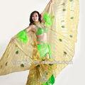 Accesorios de trajes de alta calidad de danza del vientre para el escenario. Alas de Isis