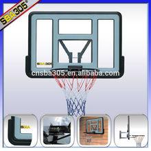 SBA305 giant acrylic basketball backboard with brackets