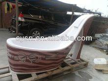 china wooden bath tubs/terrazzo bathtub/natural granite bathtubs