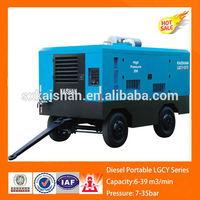 diesel mini portable air compressor/ tire sealant with air compressor