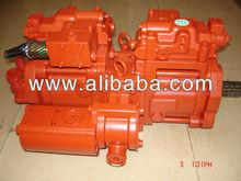 Kawasaki K3V63DT, K3V112DT, K3V140DT Variable Piston Pump for excavator application